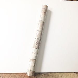 Faux Wood Adhesive Paper
